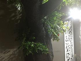 水泥仿真树