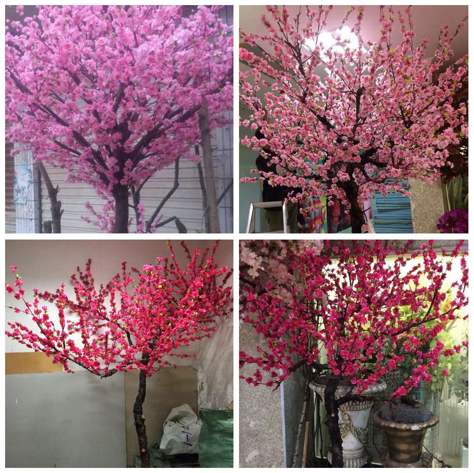 桃花仿真树