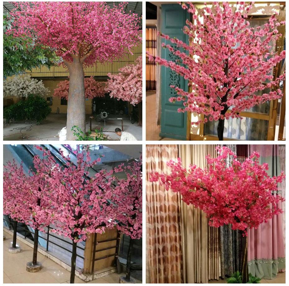 成都室内仿真桃树