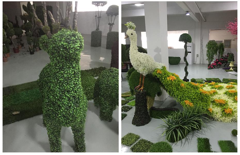 成都植物绿雕