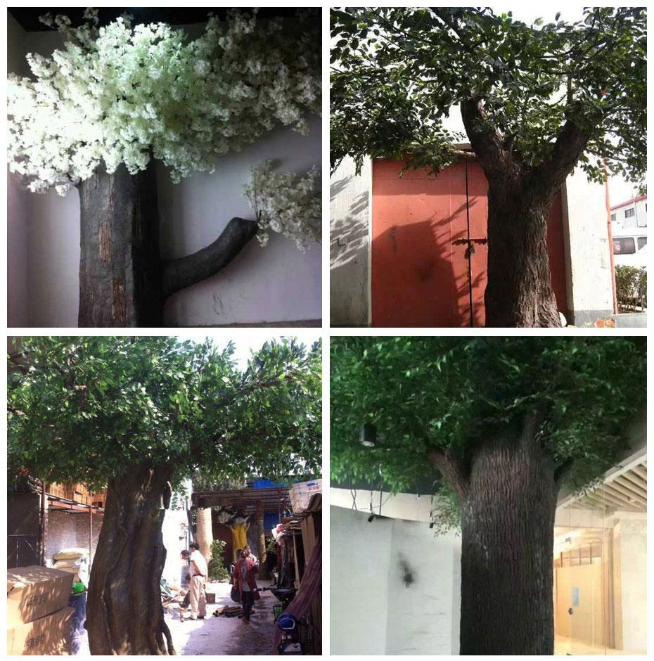 成都室外仿真水泥树