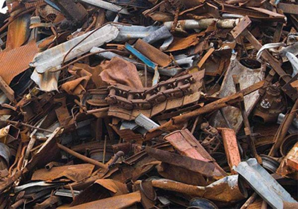 大部分的废旧钢铁都是可以作为回收利用的
