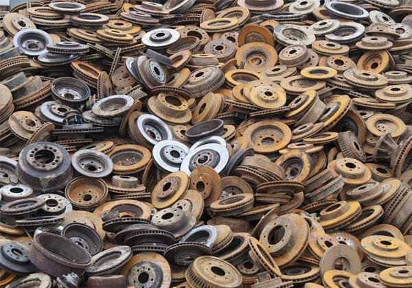 旧铁制品回收