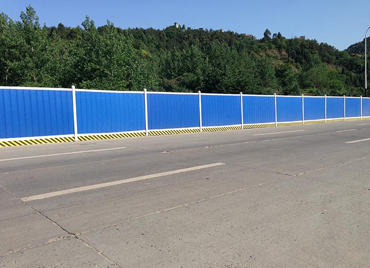 工地上的围挡和彩钢围挡的用法和特点有哪些