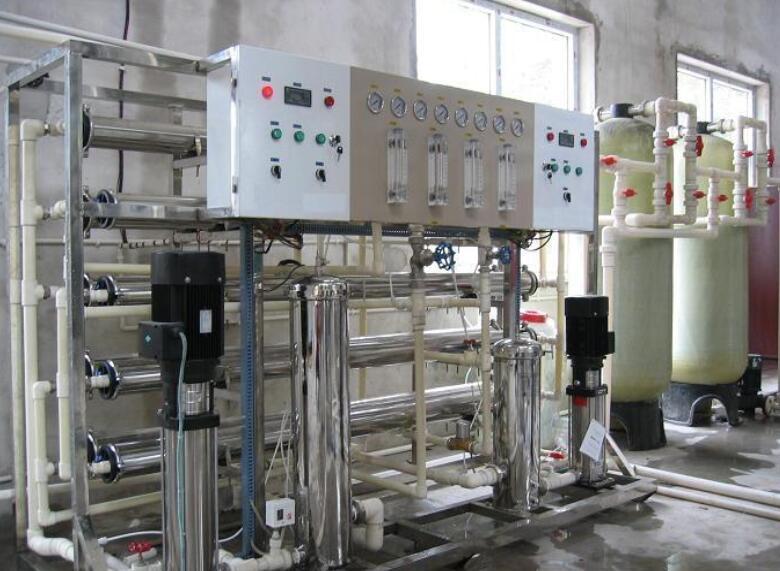 饲料厂锅炉的软化水设备