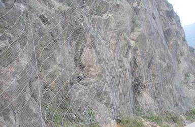 边坡防护网的是如何生产的?