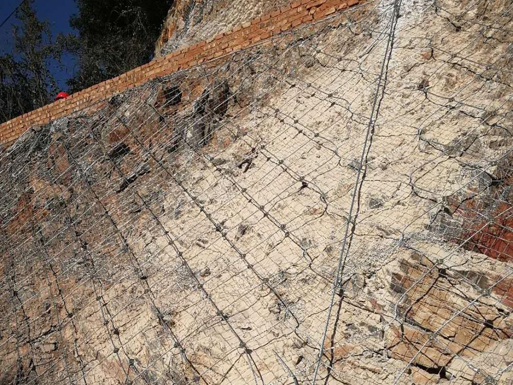 昆明边坡防护网安装