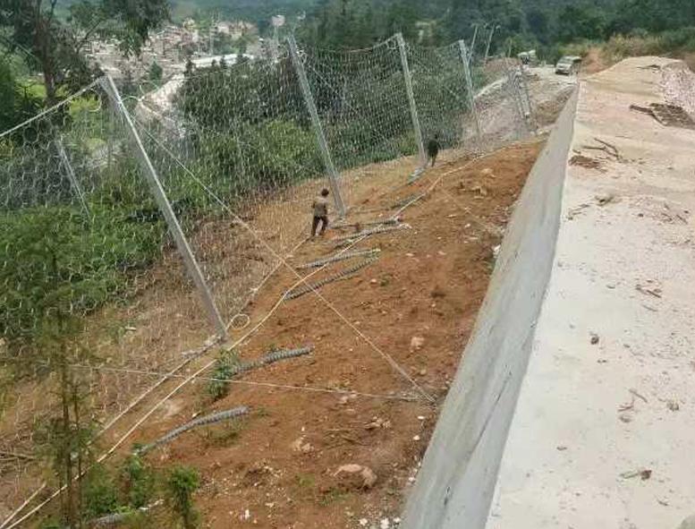 边坡防护网案例展示