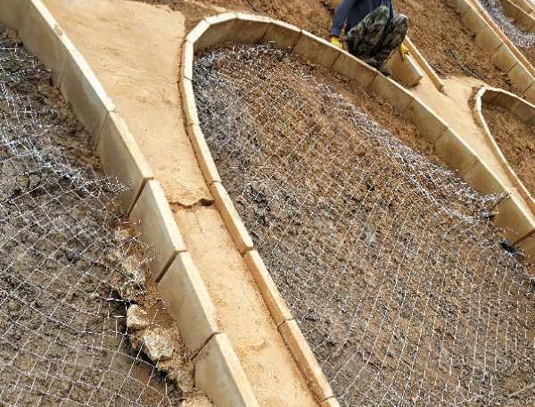 边坡防护网案例