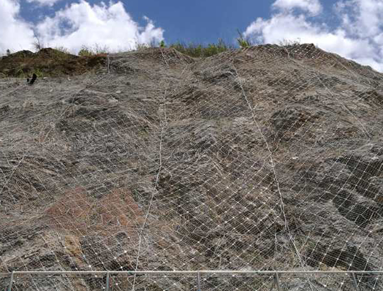 云南边坡防护网施工