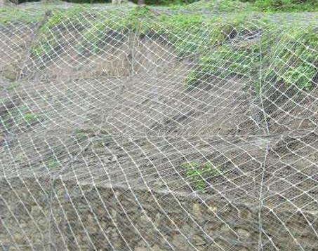 落石防护网的具体安装步骤