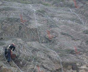 昆明边坡防护网施工