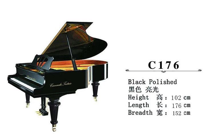 C176卡文迪三角钢琴