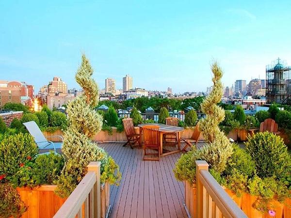 屋顶绿化景观设计