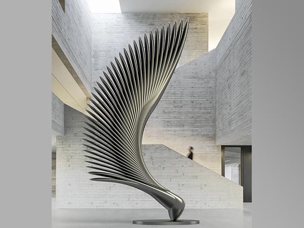 不锈钢抽象雕塑
