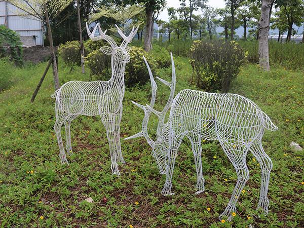 城市铁艺雕塑
