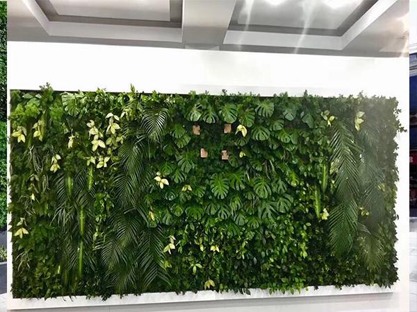 仿真背景植物墙