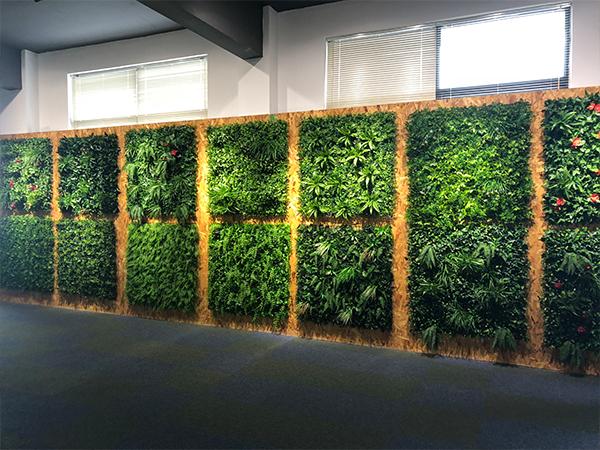 仿真植物墙室内