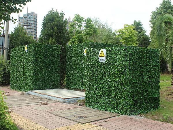 仿真绿色植物墙