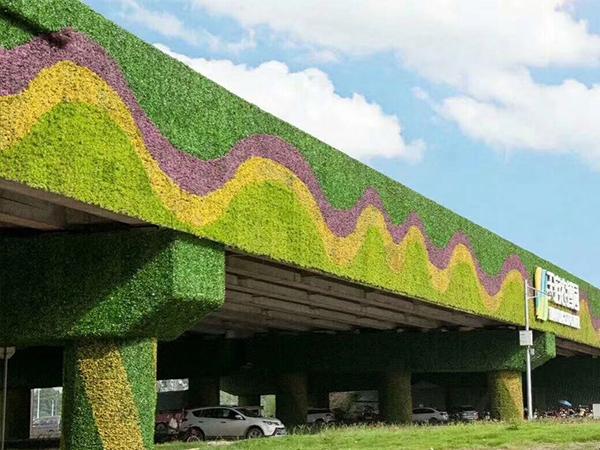 仿真植物装饰墙