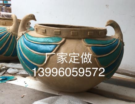 重庆赛奥玻璃钢制品:玻璃钢花盆