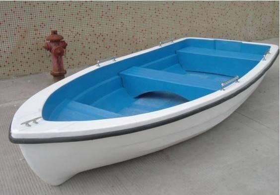 玻璃钢四人手划船