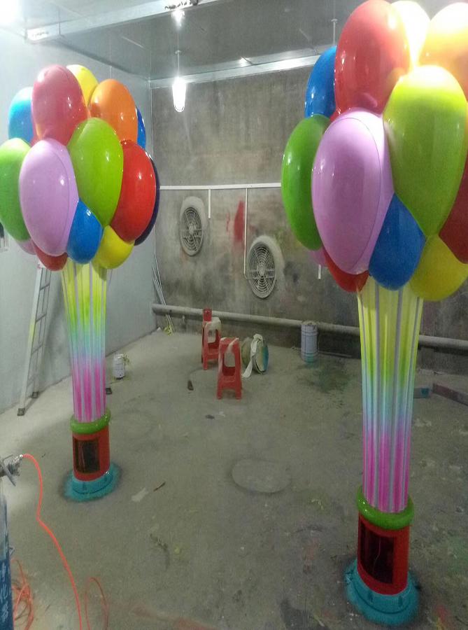 玻璃钢气球雕塑