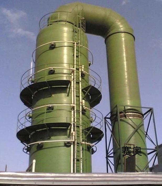 沼气玻璃钢脱硫塔的特性是怎样的