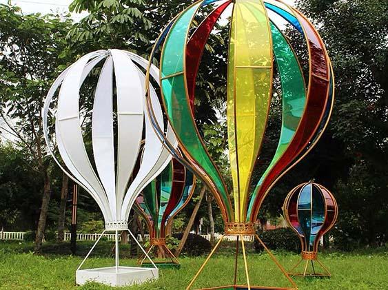 玻璃钢热气球雕塑