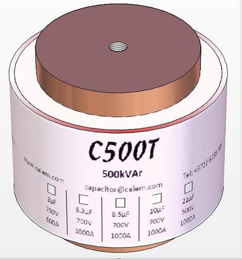 C500TW是一款重型中频水冷功率电容器