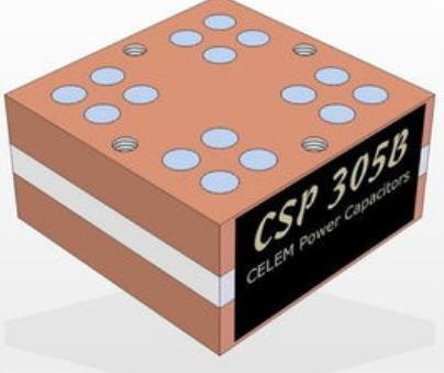 CELEM电容传导冷却高频电容CSP305B
