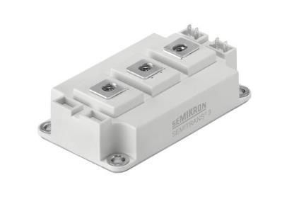 赛米控SKM25GD125D 目标应用 用于交流电机速度控制的三相逆变器