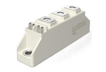賽米控  SKKD 101/16可控硅目標應用 用于交流/交流轉換器的不可控整流器