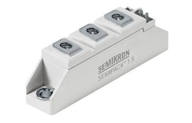 赛米控SKKD 46 目标应用 用于交流/交流转换器的不可控整流器