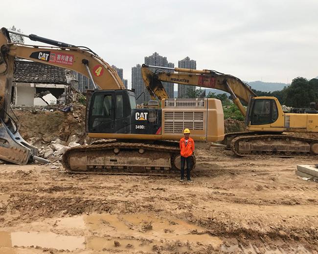 福州鹤林片区横屿组团市政公路网路基平整石方石方静态爆破工程