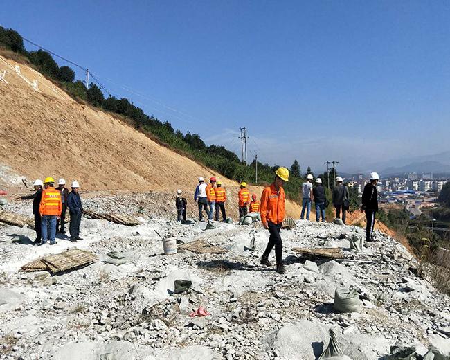 南平浦城工地石方控制爆破