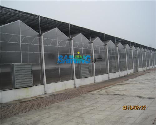北京南口农场温室阳光板工程案例