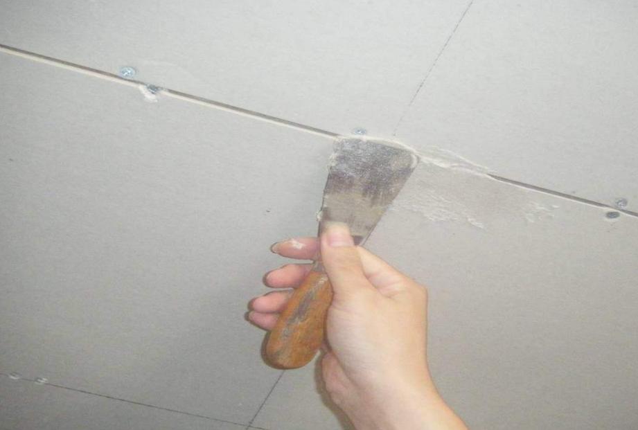 墙体裂痕施工现场
