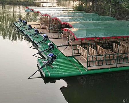 竹筏定制有哪些新奇的地方