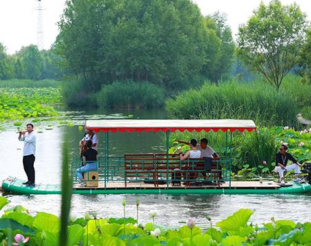 重庆旅游竹筏