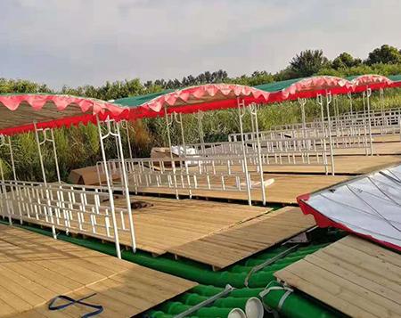 旅游竹筏制作