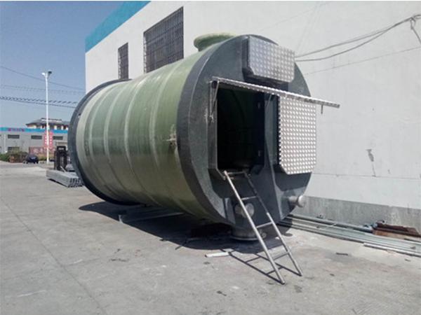 预制一体式泵站