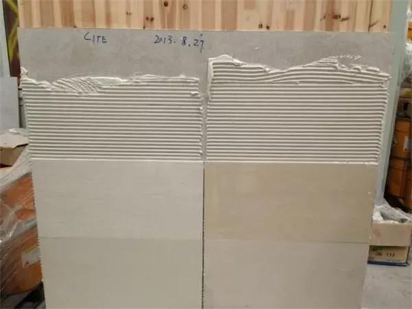 基层处理对于瓷砖胶效果的影响有多大
