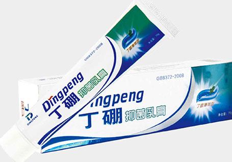 丁硼牙膏包装设计