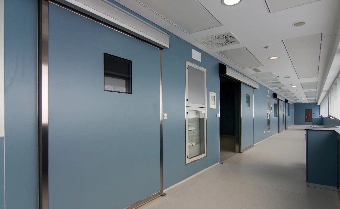 醫院氣密門--防輻射推拉門