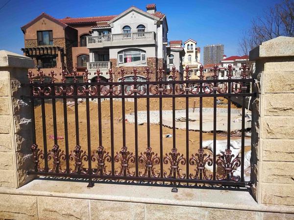绵阳铝艺别墅护栏