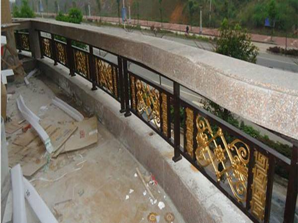 绵阳铝艺围栏护栏