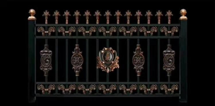 绵阳铁艺栏杆护栏