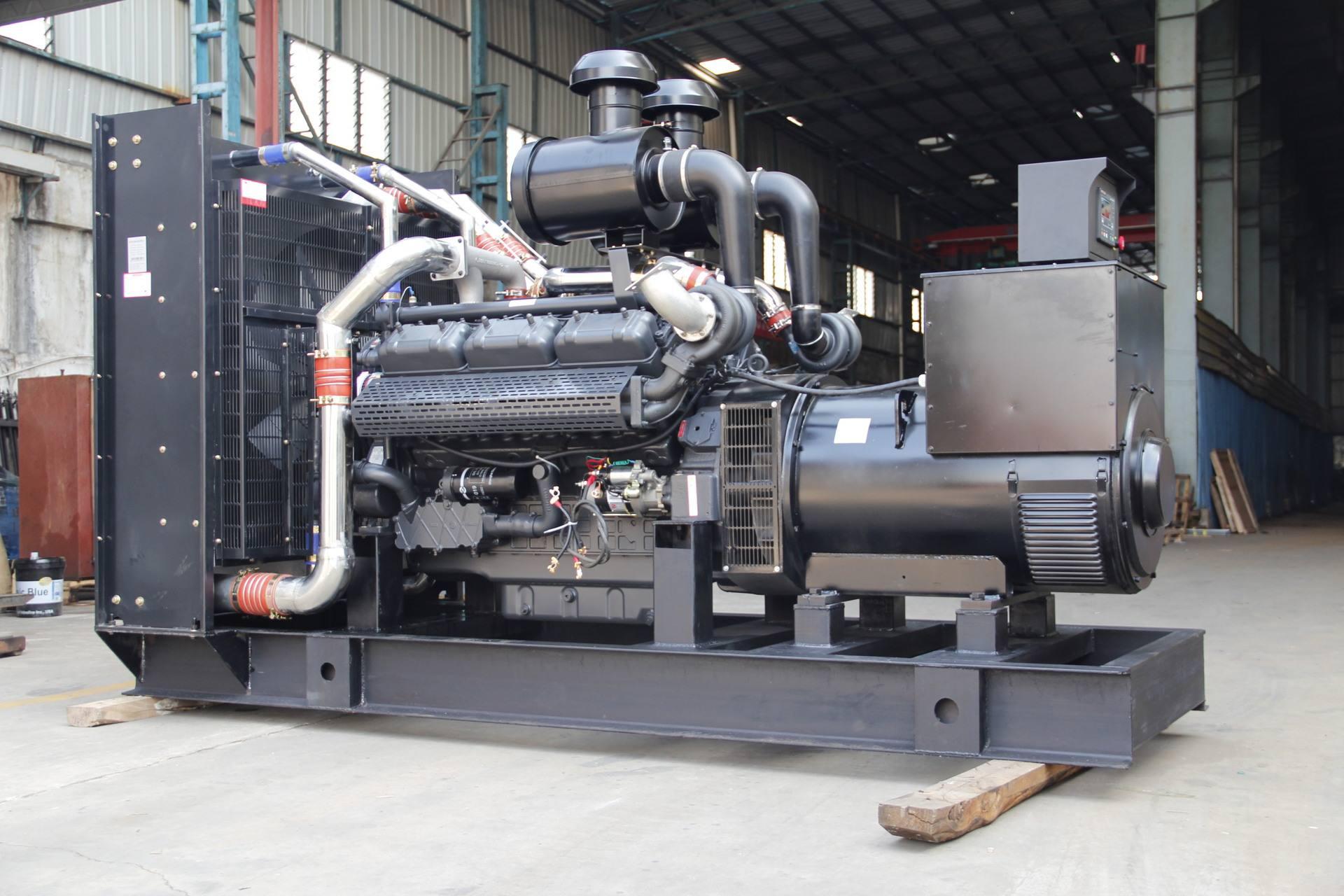 针对上柴发电机组出现震动现象原因的分析