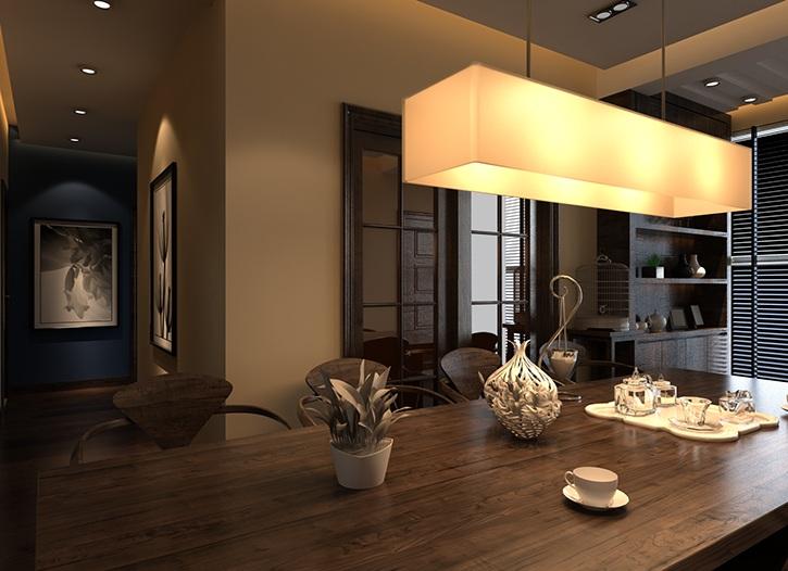 为什么眉山装饰公司设计的家庭照明灯光那么好看,我自己买来安装的就不行呢